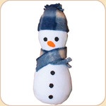 Snowman Catnip Toy--Refillable