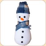 Snowman Catnip Toy--Refillable