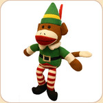 Elf Sock Monkey