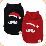 Santa 'Stache Sweater--2 colors