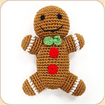 Crocheted Gingerbread Man