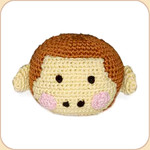Crocheted Monkey Ball