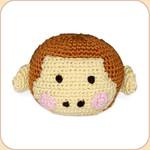 Crocheted Monkey Ball