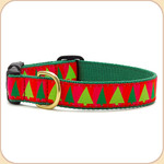 Holiday Fir Trees Collar