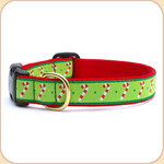 Holiday Candy Canes Collar