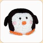 Crocheted Penguin Ball