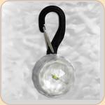 """LED Collar Light--white """"crystal"""""""