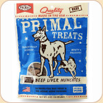 Primal Beef Liver Munchies Treats