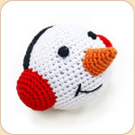 Crocheted Snowman Ball