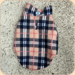 Reversible Fleece Coat--London Plaid