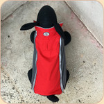 Aspen Reversible Coat--Red & Gray