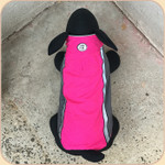 Aspen Reversible Coat--Pink & Gray