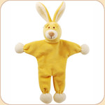 Yellow Bunny--Stuffless Toy