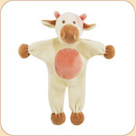 Ayrshire Cow--Stuffless Toy