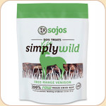 Sojos Simply Wild Venison--Freeze-Dried Treats