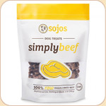 Sojos Simply Beef--Freeze-Dried Treats
