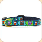 Wise Owls Cat Collar