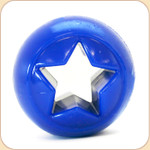 Orbee Treat Nook Ball Toy--Blue Star