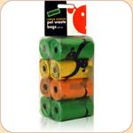 Pet Waste Bag 8 Refill Rolls
