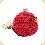 Crocheted Red Birdie