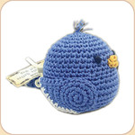 Crocheted Bluebird
