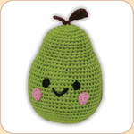 Crocheted Pear