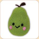 Crocheted Pear