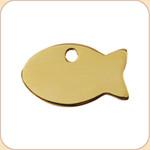 Flat Brass Fish