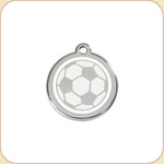 Enamel/Stainless Soccer Ball