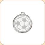 Enamel/Stainless Soccer Ball