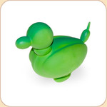 Balloon Green Duck