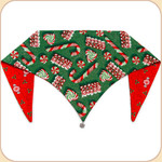 Christmas Candy Reversible Bandana