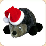 Holiday Hedgehog with Hat--Large