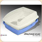 Van Ness Framed Sifting Litter Pan--Large