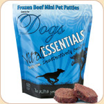 Vital Essentials Frozen Beef Mini Patties Entree