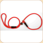 Nylon Slip Leash Red