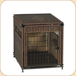 Wicker Pet Residence--Small & Medium