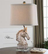 Rathin Horse Lamp