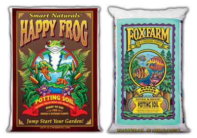 Happy Frog & Ocean Forest Foxfarm Organic Soil