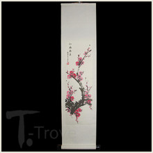 Plum Blossom Scroll