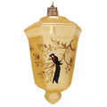 Gold Japanese Lantern Ornament