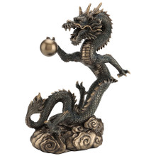 Four Toe Asian Dragon with Pearl -- T-Trove.com