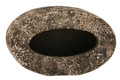 Med Faux Stone Finish Vertical Planter