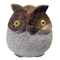 Granite Red Grey Owl 3.5in