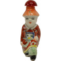 Red Little Emperor Snuff Bottle