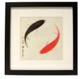 Sq Koi Frame (Ying/Yang)