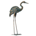 Patina Crane 44 Standing Art Lg
