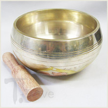 "Silver Singing Bowl ~ 3"" to 5"" diameter"