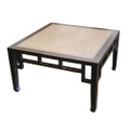 Square Coffee Table Marble 1Blk Distre