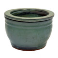 "6"" Rd Self Water Pot Jade"